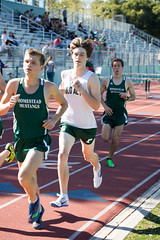 Kent biding his time in the 1600m (Malcolm Slaney) Tags: track paloalto homestead trackandfield 2016 1600m paly