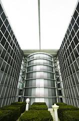 Architektur (svenru89) Tags: berlin canon office outdoor fenster grau architektur bro gebude glas gros weitwinkel diffus trb