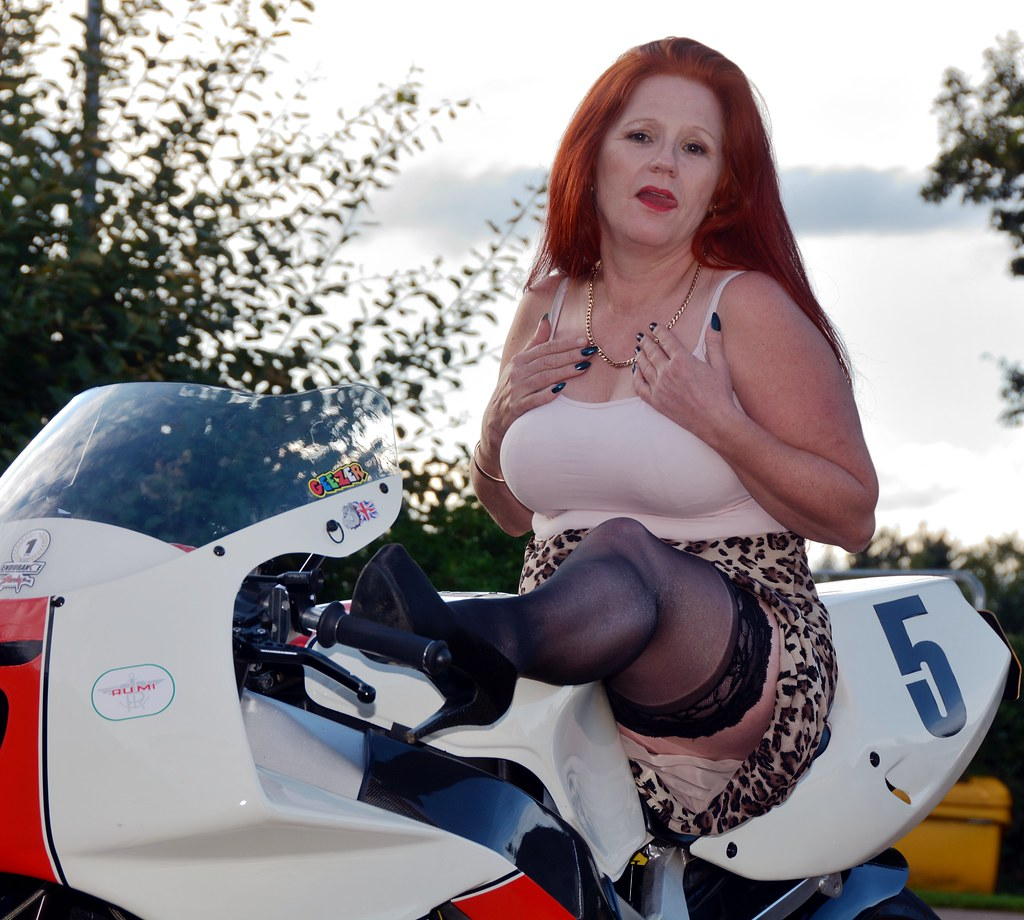About legendary. Mature motorcycle babe tasty awesome