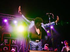 Charles Bradley (BurlapZack) Tags: backlight emotion availablelight livemusic soul singer funk handheld rb musicfestival mainstage holdthephone pack01 dentontx charlesbradley stopthepresses screamingeagleofsoul panasonicleicadgsummilux25mmf14 vscofilm 35denton olympusomdem5