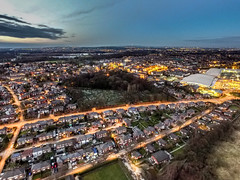 Prescot Town (sammys gallery) Tags: night nightscene knowsley merseyside nighttraffic phantom3 prescot