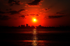 DSC_0264 Red Sunset (tsuping.liu) Tags: lighting sunset red sea sky reflection nature landscape outdoor redblack naturesfinest natureselegantshots