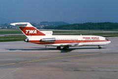 Trans World Airlines - TWA Boeing 727-31 N831TW (Kambui) Tags: airplane airplanes zrich twa aviones avions kloten zrh flugzeuge  avies boeing727 aeroplani kambui