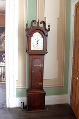 Grandfather Clock (Piedmont Fossil) Tags: home mississippi historic jefferson biloxi davis beauvoir