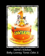 Norie's Kitchen - Baby Looney Toons Cake2 (Norie's Kitchen) Tags: birthday baby cakes cake sylvester philippines tunes custom looney tweety cavite bugsbunny fondant gumpaste metromanila norieskitchen