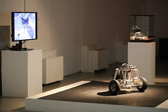 Cockroach Controlled Mobile Robot (Hertz) at Wood Street Galleries, April 2016 (G A R N E T) Tags: art insect pittsburgh technology insects bugs robotics mediaart woodstreet bioart woodstreetgalleries