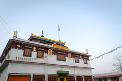 [334] - ghoom monastery (jathdreams) Tags: travel winter mountains building architecture vintage landscape outside nikon outdoor rustic wanderlust monastery darjeeling hillstation northeastindia incredibleindia ghoommonastery nikond5100