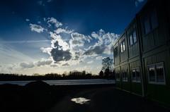 Sunset in Belgium (Jensduthoo) Tags: sunset sky sun clouds belgium jens duthoo