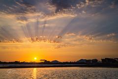 352 - (Gladson777) Tags: sunset india reflection beautiful rural skyscape landscape evening long exposure village sony side country salt 1855 alpha mumbai sodium slt chloride pans nacl a58 55200 vasai ponda bhuigaon naigaon