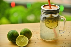 Lemon coller for summer (Ormastudios) Tags: summer lemon drink masonjar cooler lime