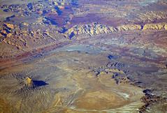 2016_02_10_sba-lax-ewr_497 (dsearls) Tags: red orange snow mountains utah flying desert wind aviation united aerial erosion plains sanrafaelswell ual unitedairlines windowseat windowshot 20160210 sbalaxewr