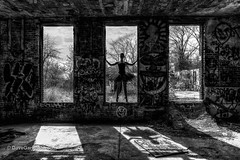 Noelle shadow (DaveGarPhoto) Tags: ballet abandoned dance dancer tutu