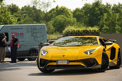 Superveloce. (David Clemente Photography) Tags: cars car lamborghini sv supercars blancpain autodromomonza hypercars superveloce aventador lamborghiniaventador aventadorsv yellowaventador lp7504 aventadorsuperveloce aventadorlp7504