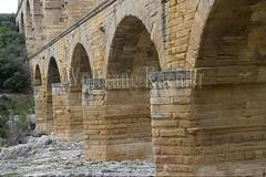40080150 (wolfgangkaehler) Tags: bridge france water french europe european roman bridges unescoworldheritagesite aqueduct nimes pontdugard aqueducts southernfrance 2016 1stcenturyad gardonriver garddepartment