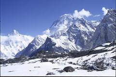 K2_0628420 Broad Peak and K2 (ianfromreading) Tags: pakistan concordia k2 karakoram