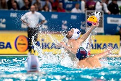 FINA Men's Water polo Olympic Games Qualifications Tournament 2016 - Trieste (ITA) (fina1908) Tags: blue italy white fina ita trieste waterpolo olympicgames qualification settebello 2016 pallanuoto 7bello tournament2016 8martonszivoshun