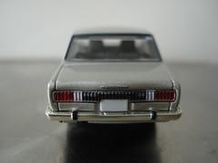 LV-49b NISSAN SKYLINE 1800 Deluxe (Silver) (nissanskyline) Tags: skyline vintage silver nissan deluxe 1800 limited tomica lv49b