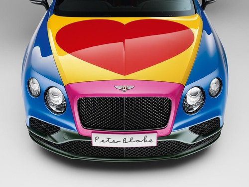 Bentley Continental GT by Sir Peter Blake