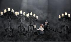 LEGO Phantom Opera Theatre Scene (AzureBrick) Tags: show music west brick night opera lego stage musical stuff end gondola phantom