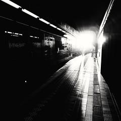 Morning Light (db) Tags: vienna wien bw subway austria sterreich u4 htteldorf