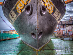SS Great Britain (Wizard CG) Tags: world england water architecture digital bristol ed four dock harbour britain outdoor ngc ss great olympus tourist micro hdr attraction 43 thirds dockyard brunel trekker m43 mzuiko epl7