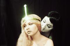 IMG_0833 (spellementary) Tags: gay lesbian cosplay vampire bubblegum marceline wlw adventuretime princessbubblegum marcelinethevampirequeen adventuretimecosplay bubbline couplescosplay