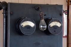 DC Power for Rail Signals (Ian E. Abbott) Tags: caltrain bayarea santaclara siliconvalley meter amps weston volts voltmeter southernpacific railroadstation amperes ammeter santaclarastation santaclaratrainstation vintageinstruments santaclararailroadstation westonmeter vintagemeters westonvoltmeter westonammeter analogmeters