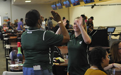 DCPS bowling (chrishurd3) Tags: dc bowling highfive celebrating highschoolsports