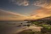 AMP_5393_1 (Amparo Hervella) Tags: longexposure sunset sea españa cloud reflection beach water rock landscape atardecer mar spain agua nikon playa paisaje murcia reflejo cartagena roca largaexposición calblanque filtrond d7000 nikond7000