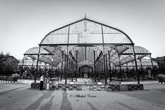 The Lalbagh Glass House (abhishek.verma55) Tags: shadow blackandwhite bw art glass monochrome photography flickr bangalore structure 8mm glasshouse lightandshadow flowershow lalbagh famousplaces 8mmfisheye rokinon famousgarden lalbaghglasshouse lalbagbotanicalgarden canon550d