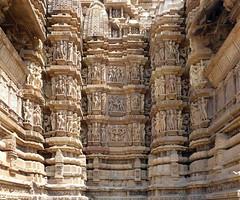 India - Madhya Pradesh - Khajuraho - Khajuraho Group Of Monuments - Kandariya Mahadeva Temple - 220 (asienman) Tags: india khajuraho madhyapradesh khajurahogroupofmonuments asienmanphotography