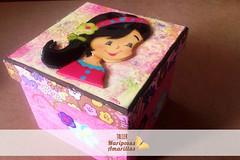 Caja Mueca Infantil (Taller Mariposas Amarillas) Tags: flores madera arte country caja nia infantil mdf mueca joyero decoracion espacios