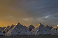 Pyramid sunset (Rich3012) Tags: uk sunset england sky warrington cheshire pyramid dusk