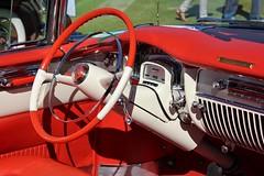 23rd Annual Palos Verdes Concours d'Elegance (USautos98) Tags: interior convertible cadillac eldorado caddy 1953 caddie
