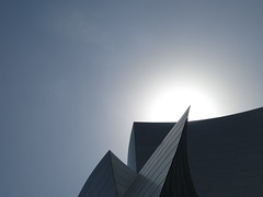 Gehry eclipse (jaime.ferbec) Tags: architecture california disney eclipse gehry la minimalism opera sky
