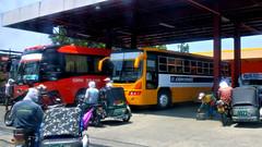 GMW Trans/St. Joseph Express Laoag Bus Station (III-cocoy22-III) Tags: bus station st joseph philippines express trans ilocos laoag norte gmw