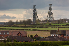 Clipstone Head Stocks (kevaruka) Tags: blue england orange cloud sun color colour green history colors sunshine clouds canon countryside spring flickr industrial colours cloudy sunny historic mining april 5d frontpage nottinghamshire sunnyday miners miningtown thoresby edwinstowe 2016 cloudyday headstocks clipstonepit canon5dmk3 5dmk3 canonef100400f4556l 5d3 thoresbycolliery 5diii thephotographyblog canoneos5dmk3 thoresbypit