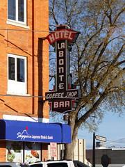 Douglas, WY Hotel LaBonte (army.arch) Tags: sign historic blade wyoming douglas wy nationalregister nationalregisterofhistoricplaces nrhp historicpreservatioin