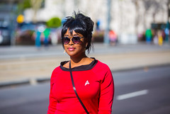 Beam Me Up, Silicon Valley Comic Con, 2016 (Thomas Hawk) Tags: california startrek fav50 cosplay sanjose conventioncenter comiccon svcc fav10 costumeplay fav25 sanjoseconventioncenter siliconvalleycomiccon comicconsiliconvalley svcc2016