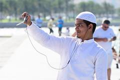 20160416 1512-1 (Avi Viljoen) Tags: corniche doha qatar selfie worldtrekker