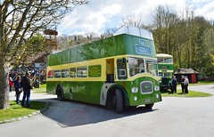 Leyland Titan (PD3.) Tags: show 3 west bus heritage history buses pits museum vintage sussex chalk coach open top centre pd historic topless motor preserved titan services topper dcd leyland psv pcv amberley 410 southdown pd3 410dcd
