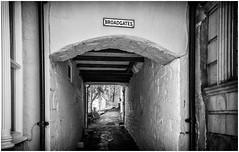 Broadgates . (wayman2011) Tags: uk bw oldbuildings canon5d dales pennines alleys lightroom townscapes teesdale barnardcastle wayman2011