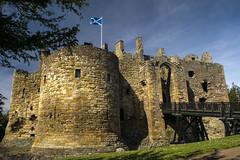 Direleton (photojmann) Tags: castle scotland north drawbridge berwick saltire direleton nikond5300