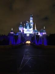 Sleeping Beauty Castle (Lennox / Sissel) Tags: castle lights disneyland carousel nighttime anaheim 60th sleepingbeautycastle