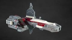 RMX Challenge - Round 3 (lokiloki29) Tags: ship lego space challenge rmx starfighter