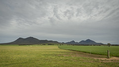Spinal Topography (SteveKPhotography) Tags: mountains field clouds rural fence landscape outdoors countryside scenery farm sony scenic australia wideangle alpha tamron westernaustralia 2470mm a99 stirlingrangenationalpark amelup slta99 stevekphotography