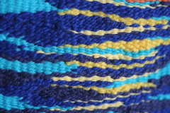 Detail of Sunset Weaving 1 (thenotionsbox) Tags: sunset detail handmade crafts craft woven weaving weave handwoven