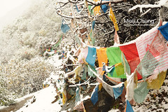 Prayer Flags (meiji4fun4life) Tags: snow nature hiking prayer ngc olympus flags national  geographic omd em1   m43