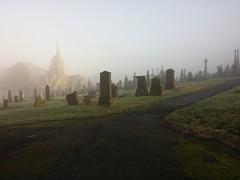 Foggy Walton Lane | Marsden Cemetery (Pendlelives) Tags: cemetery graveyard fog landscape foggy nelson lancashire walton eery pendle