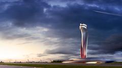 Проект диспетчерской башни в Стамбуле от Aecom + Pininfarina